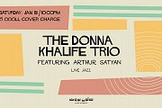 The Donna Khalife Trio Feat. Arthur Satyan at Salon Beyrouth