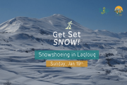 Snowshoeing in LaqLouq with Shakti Wellness Center