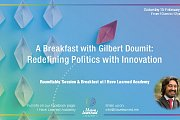 Breakfast with Gilbert Doumit: Redefining Politics by Innovation at I Have Learned Academy