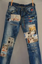 Patchwork on your Jeans