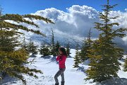Snowshoeing Bakish with Lebanese Explorers