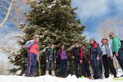 The East Side of Laqlouq Snowshoeing with Vamos Todos