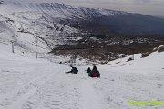 Qornet El Sawda Snowshoeing with Vamos Todos