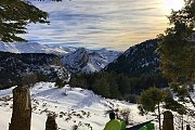 Snowshoeing Tannourine Reserve with Lebanese Explorers