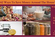 62 Ways To Save Money Around The House Class