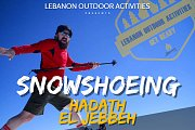 *Snowshoeing in Hadath el Jebbeh Cedars with Lebanon Outdoor Activities*