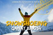 *Snowshoeing in Qanat Bakish with Lebanon Outdoor Activities*