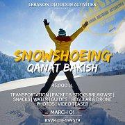 *Snowshoeing in Qanat Bakish with Lebanon Outdoor Activities*