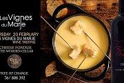 Les Vignes du Marje With Cheese Fondue