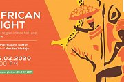 African Night / Ethiopian Buffet by Chef Mekdas Wedaje