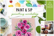Paint & Sip Workshop!