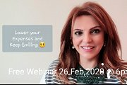 How to Lower Your Expenses & Keep Smiling - Free Webinar