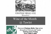 Wine of the month: Chateau Belle-Vue Wine Tasting