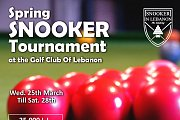 Spring Snooker Tournament