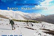 Snowshoeing Bakich - Hakl Hemmena