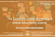 The Complete Digital Marketing & Online Advertising Course - A workshop by I Have Learned Academy