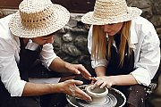 Pottery Class With Your MOM