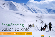 Goodbye Winter Snowshoeing in Bakish