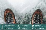 Snow-Hiking Chouf Reserve with Chronosport