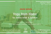 Yoga from Home for Stress Relief & Balance - Free Online Session with I Have Learned Academy
