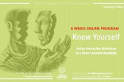 Know Yourself - An online interactive program by I Have Learned Academy