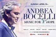 Andrea Bocelli - Livestream Easter Sunday
