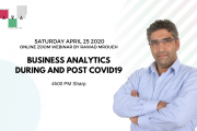 Business Analytics During And Post Covid19 - Online Discussion