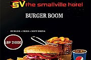 Burger Boom at The Smallville Hotel