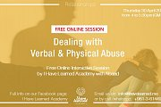 Dealing with Verbal & Physical Abuse - Free Online Talk by I Have Learned Academy with Abaad