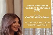 Learn Emotional Freedom Technique with Cayte Mocadam