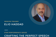 Crafting the Perfect Speech with Elio Haddad | FREE Online Educational Event