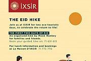 The Eid Hike at IXSIR