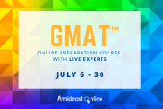 Online GMAT® Preparatory Course at AMIDEAST