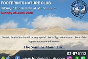 Footprints Hiking to the Summit of Mt. Sannine