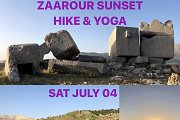 Sunset Hike & Yoga in Zaarour with HikeAcrossLebanon