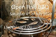 Open Fish BBQ at Guitar Studio & Co