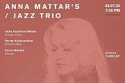 Anna Kudinova-Mattar / Jazz Trio at Onomatopoeia