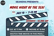 Movie Night by the Sea !