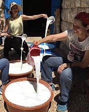 Cheese Making & Camping at 3youn Orghosh