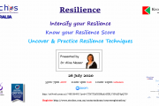 Free Private Webinar on Resilience