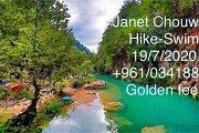 Janet Chouwen (Hiking,Swimming) with Golden Feet