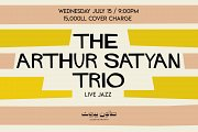 Arthur Satyan Trio Live at Salon Beyrouth