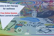 Art therapy for Wellness - Free Online Session by I Have Learned Academy
