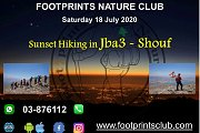 Sunset Hiking in Jba3 - Shouf with Footprints Club