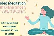 Guided Meditation Session at Art of Living Lebanon