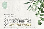 Grand Opening of LIV the farm