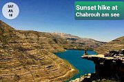Spectacular Sunset Hiking at Chabrouh with Green Steps