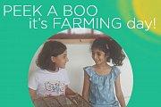 Peek A Boo..  It's FARMING DAY!