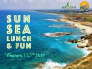 Sun, Sea, Lunch and Fun at Naqoura!