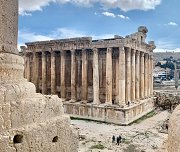 City Sightseeing Tour to Baalbeck Temples & Ksara Winery guided day trip